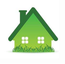 зелена къщичка